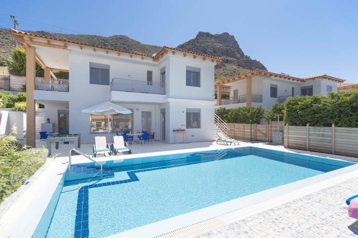 Villa Danae Blue, Hersonissos, Crete, Greece
