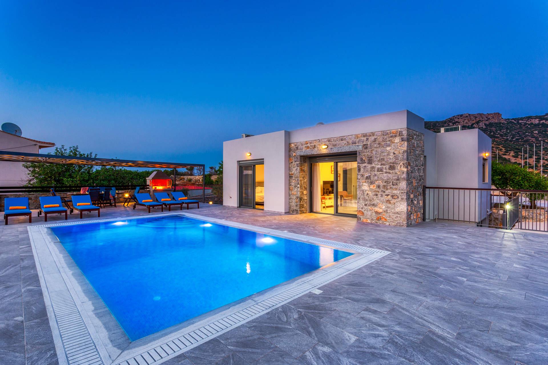 Villa Kastalia, Istron, Crete, Greece