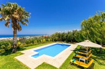 Villa Kastellaki, Rethymnon, Crete