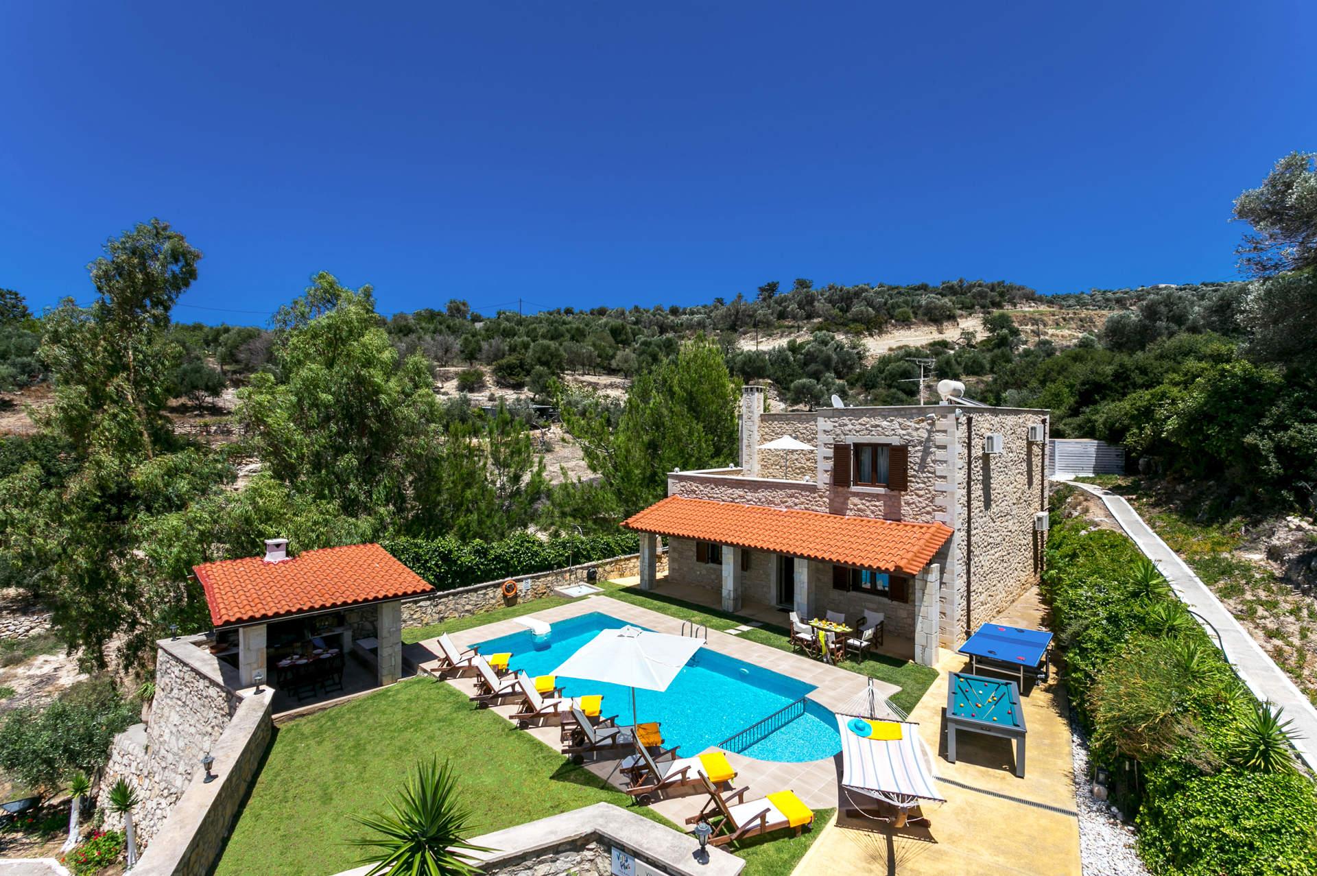 Villa Katia Faragi, Rethymnon, Crete