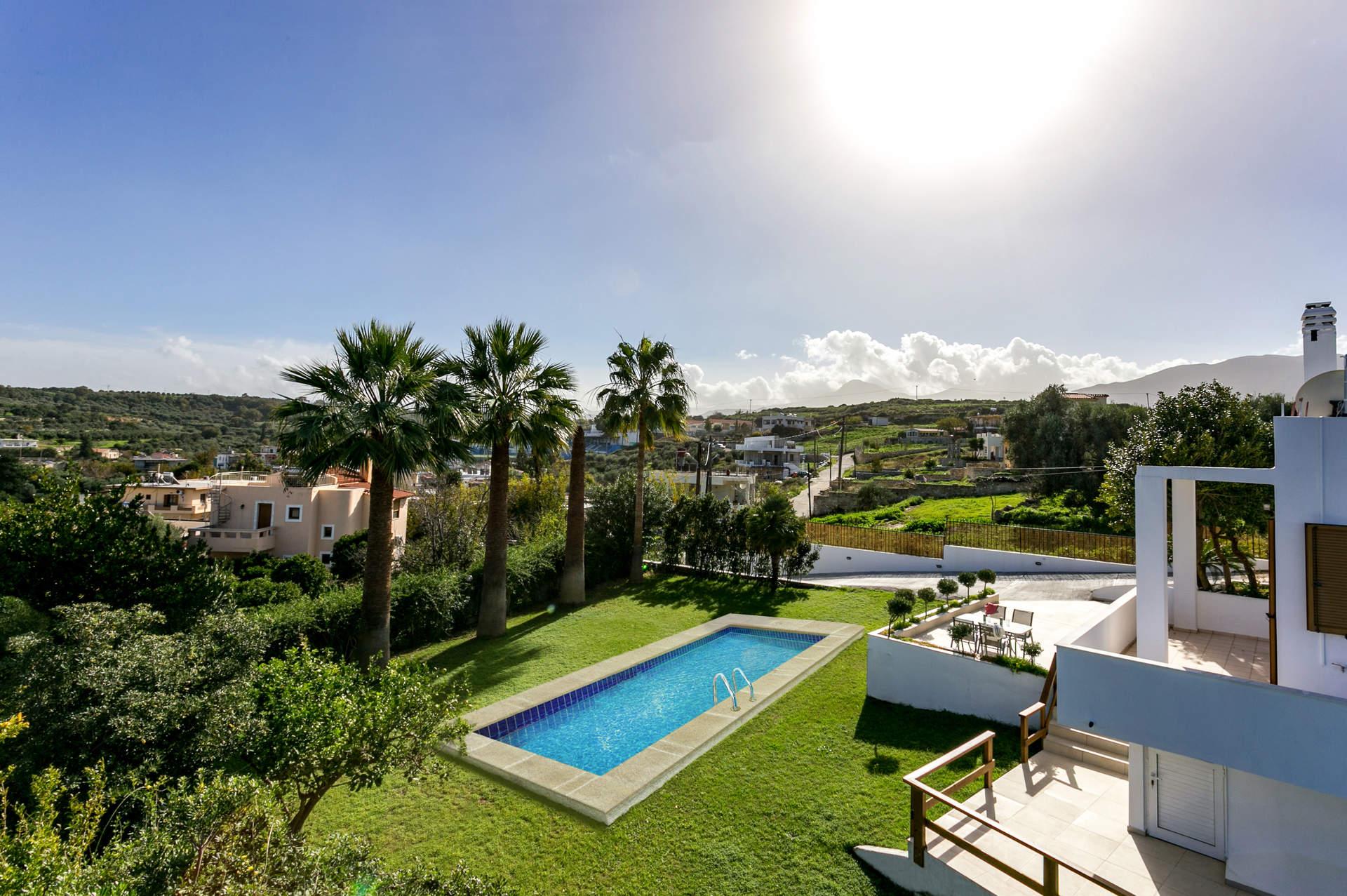 Villa Kostas Maria In Rethymnon Crete Villa Plus
