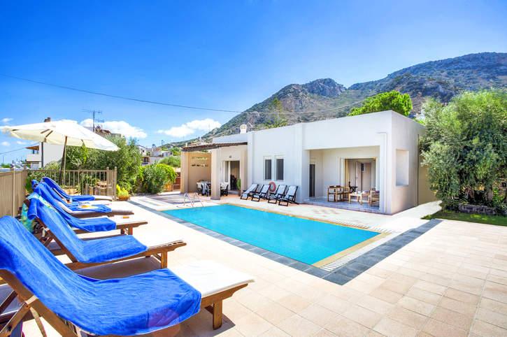 Villa Melia, Istron, Crete, Greece
