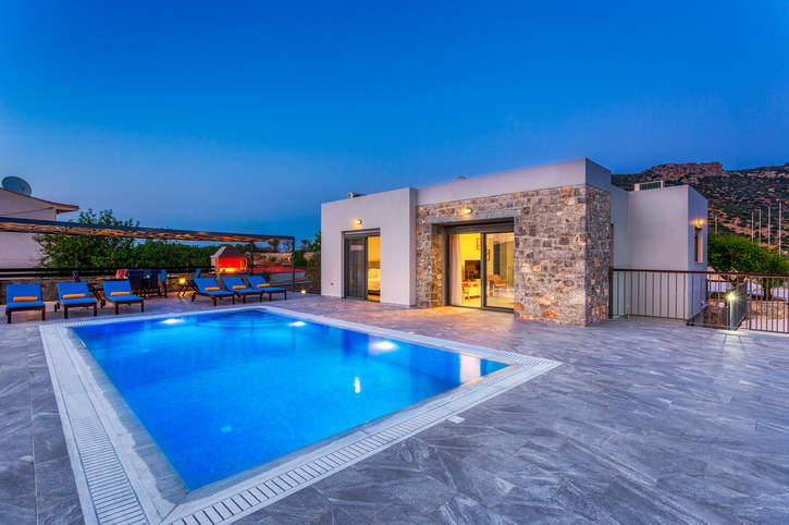 Villa Meliti, Istron, Crete, Greece