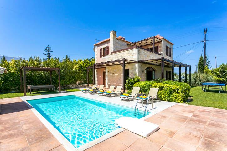 Villa Mera, Rethymnon, Crete, Greece