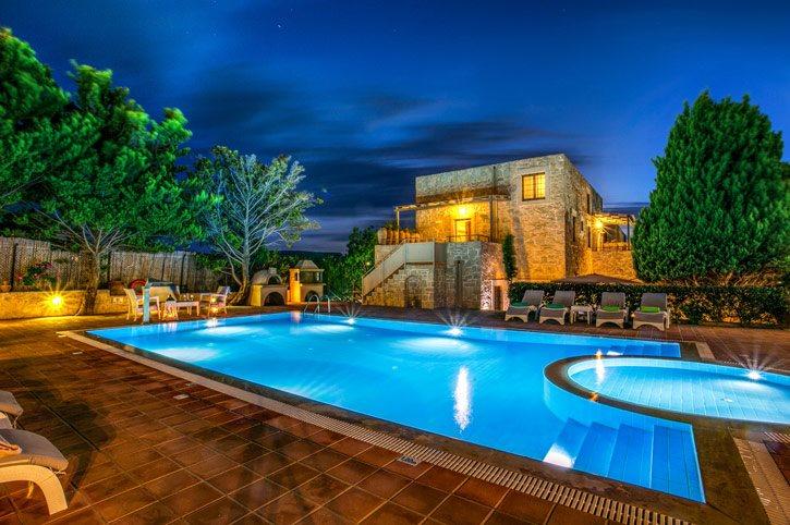 Villa Minos, Gouves, Crete, Greece