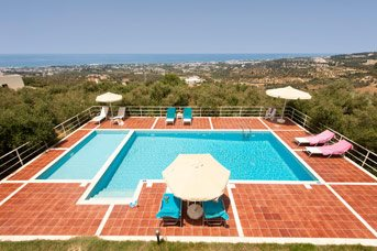 Villa Panorama Crete, Rethymnon, Crete