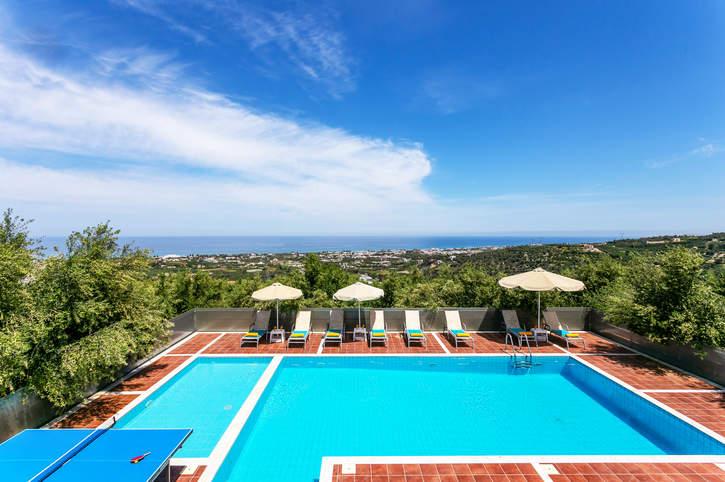 Villa Panorama Crete, Rethymnon, Crete, Greece