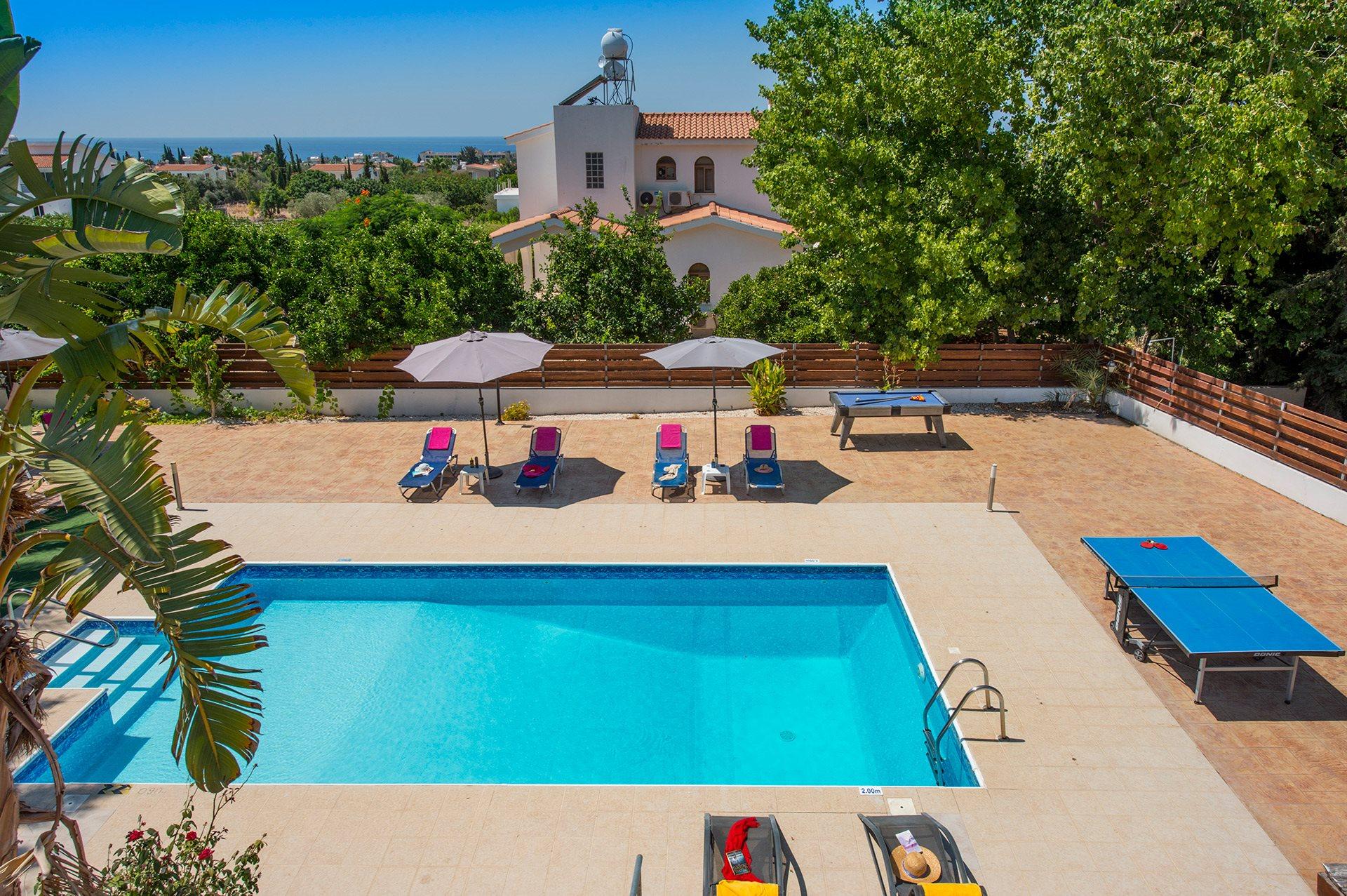 Villa Ambrosia Coral Bay Cyprus