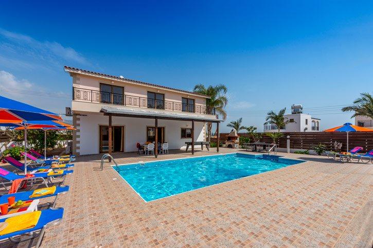 Villa Angela Coral, Coral Bay, Cyprus
