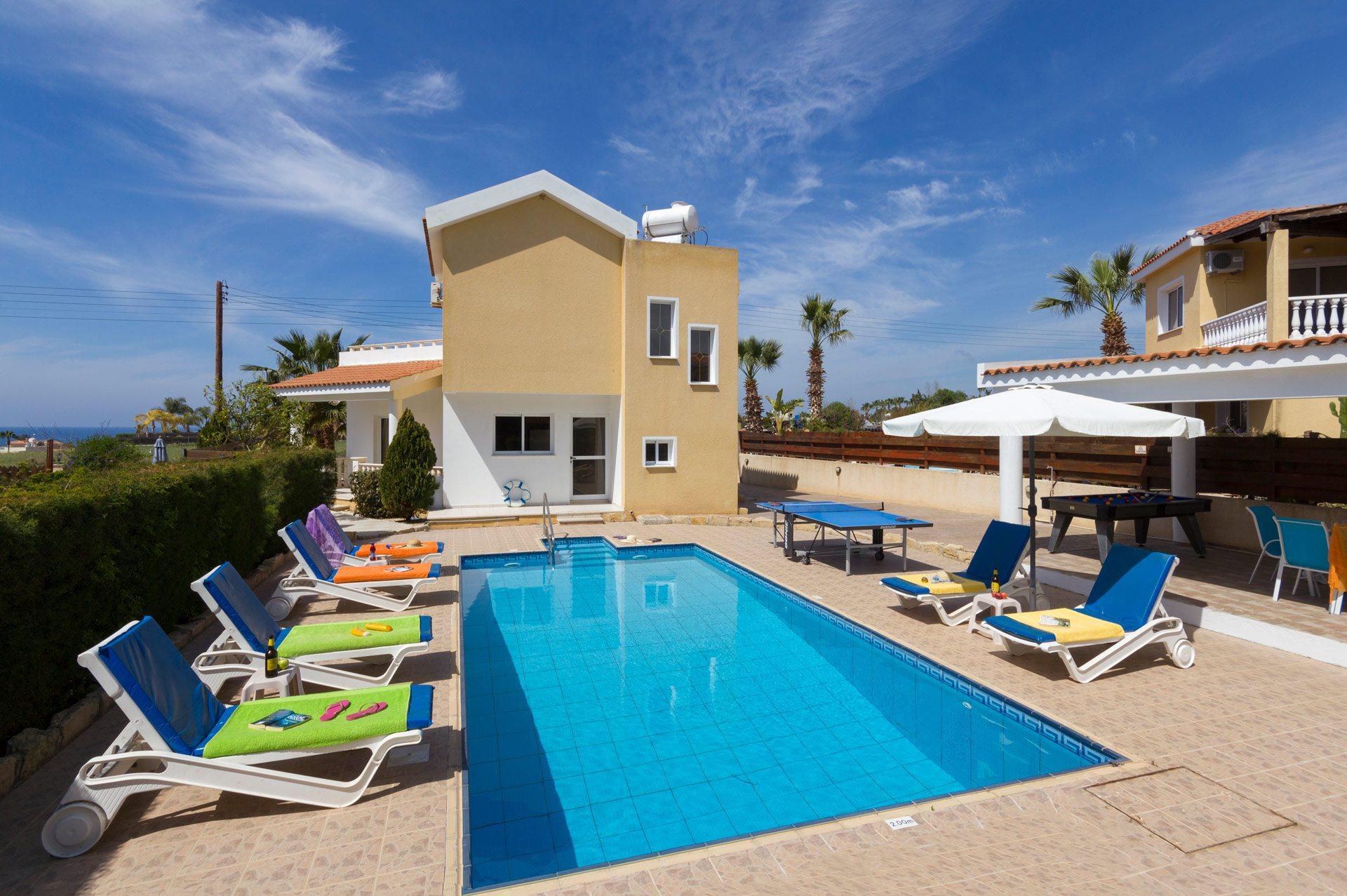 Villa Azalea, Coral Bay, Cyprus