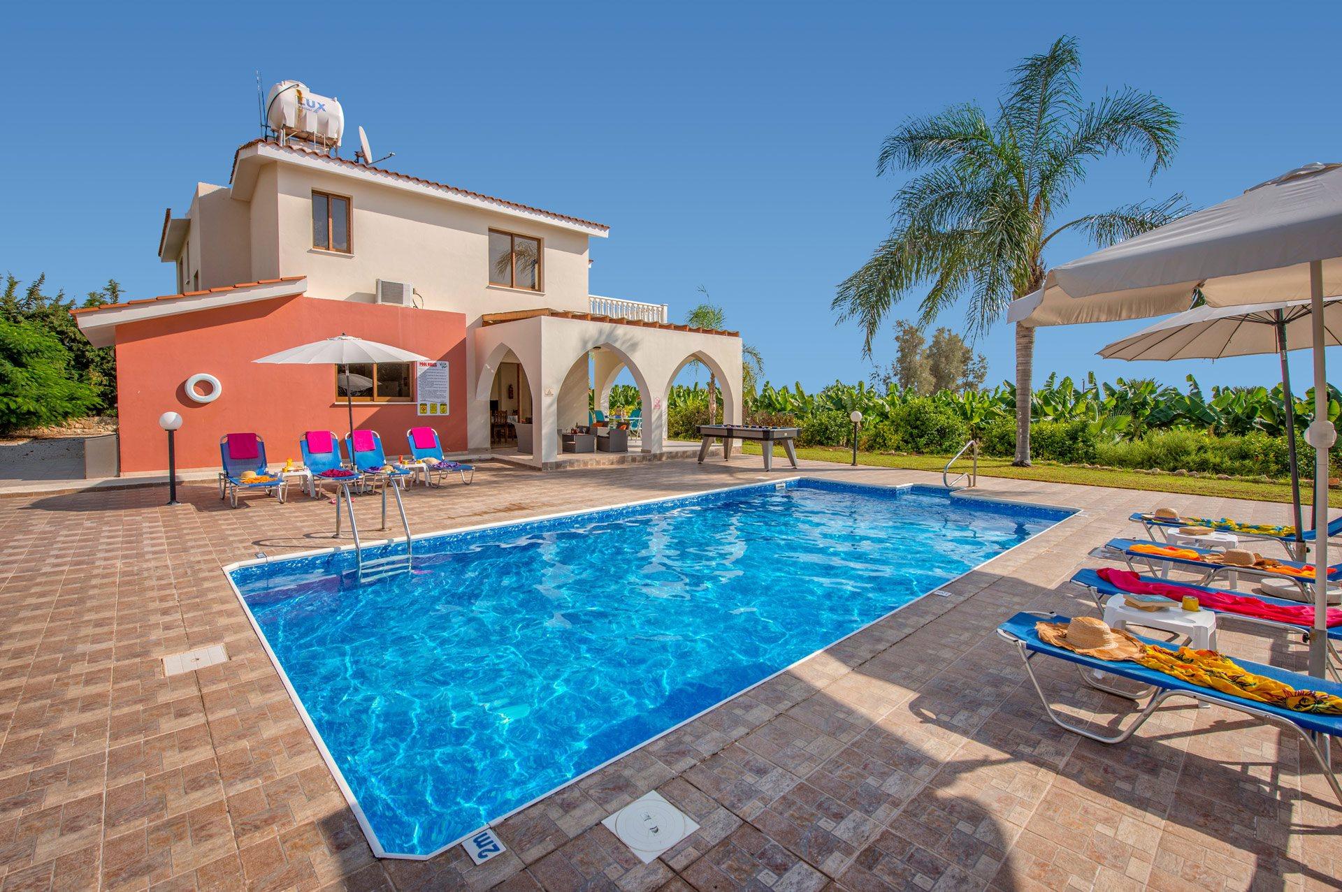 Villa Banana Grove, St. Georges, Cyprus