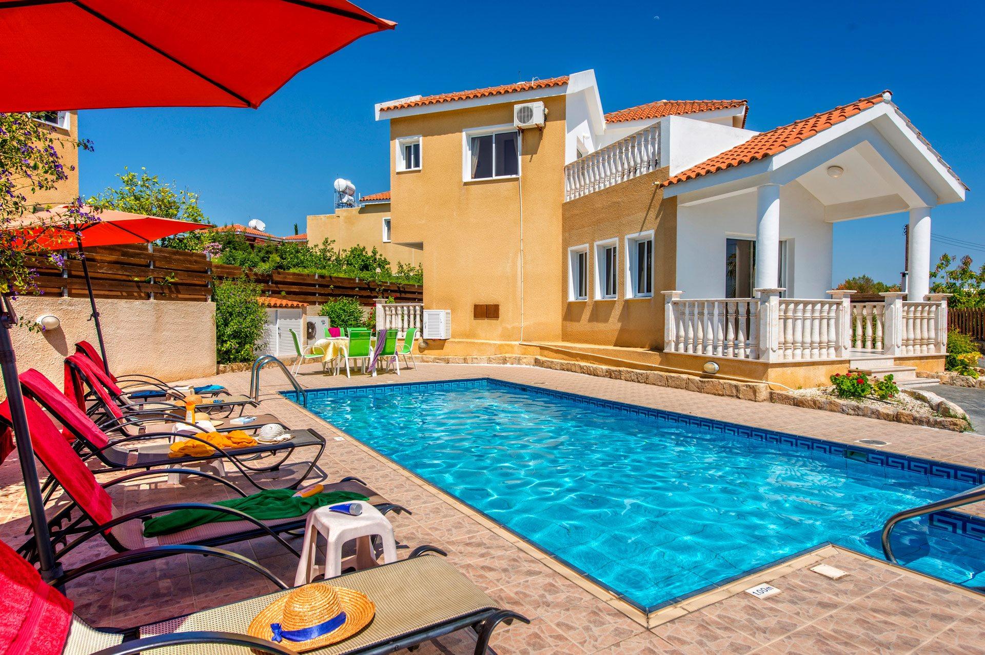 Villa Camelia, Coral Bay, Cyprus