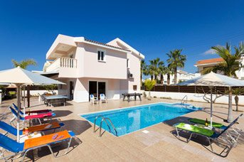Villa Coral Athina, Coral Bay, Cyprus