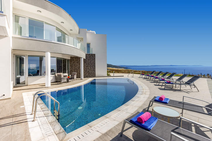 Villa Elite Sea View, Pomos, Cyprus