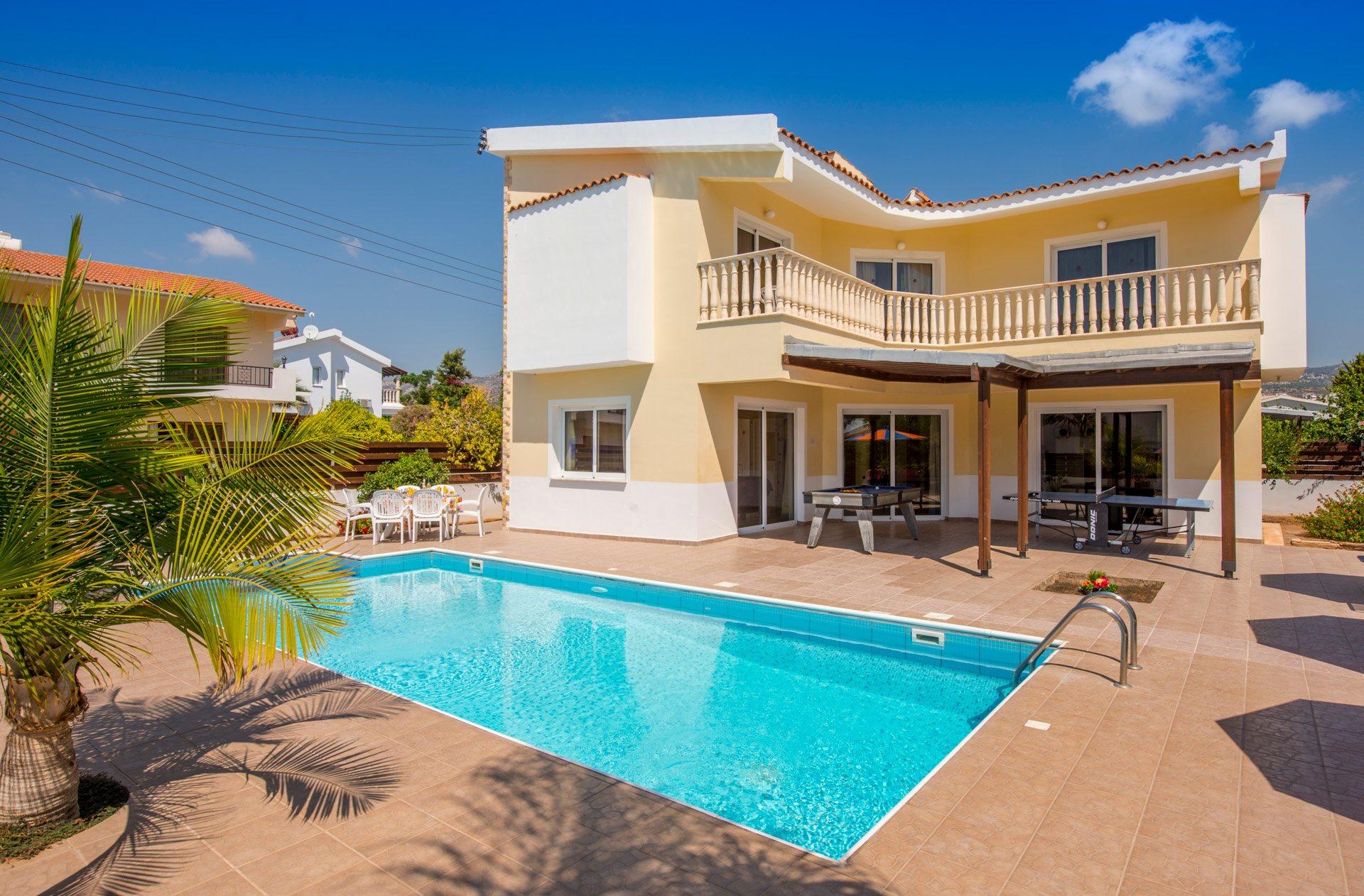 Villa Europa In Coral Bay Cyprus Villa Plus