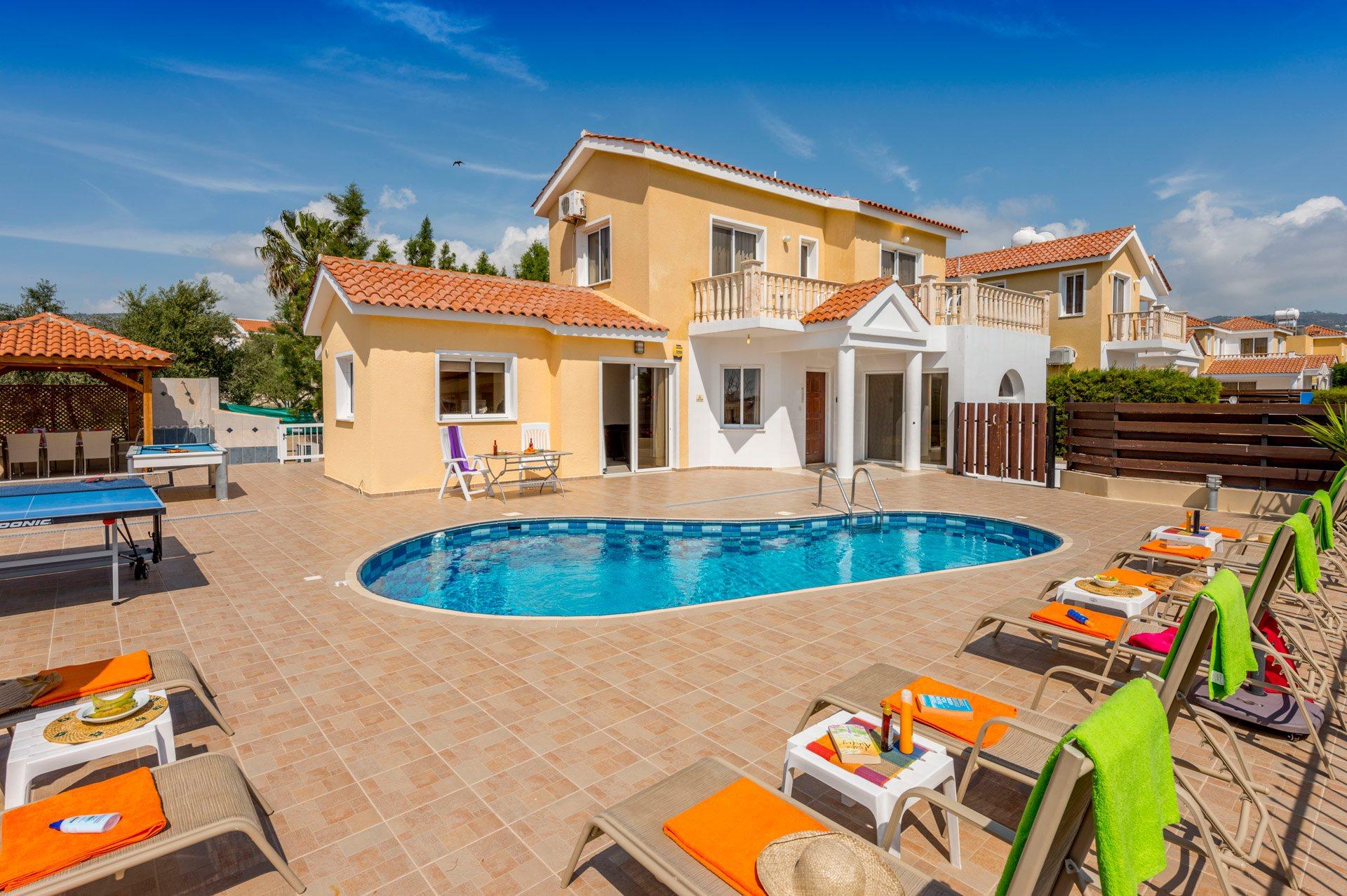 Villa Frida, Coral Bay, Cyprus