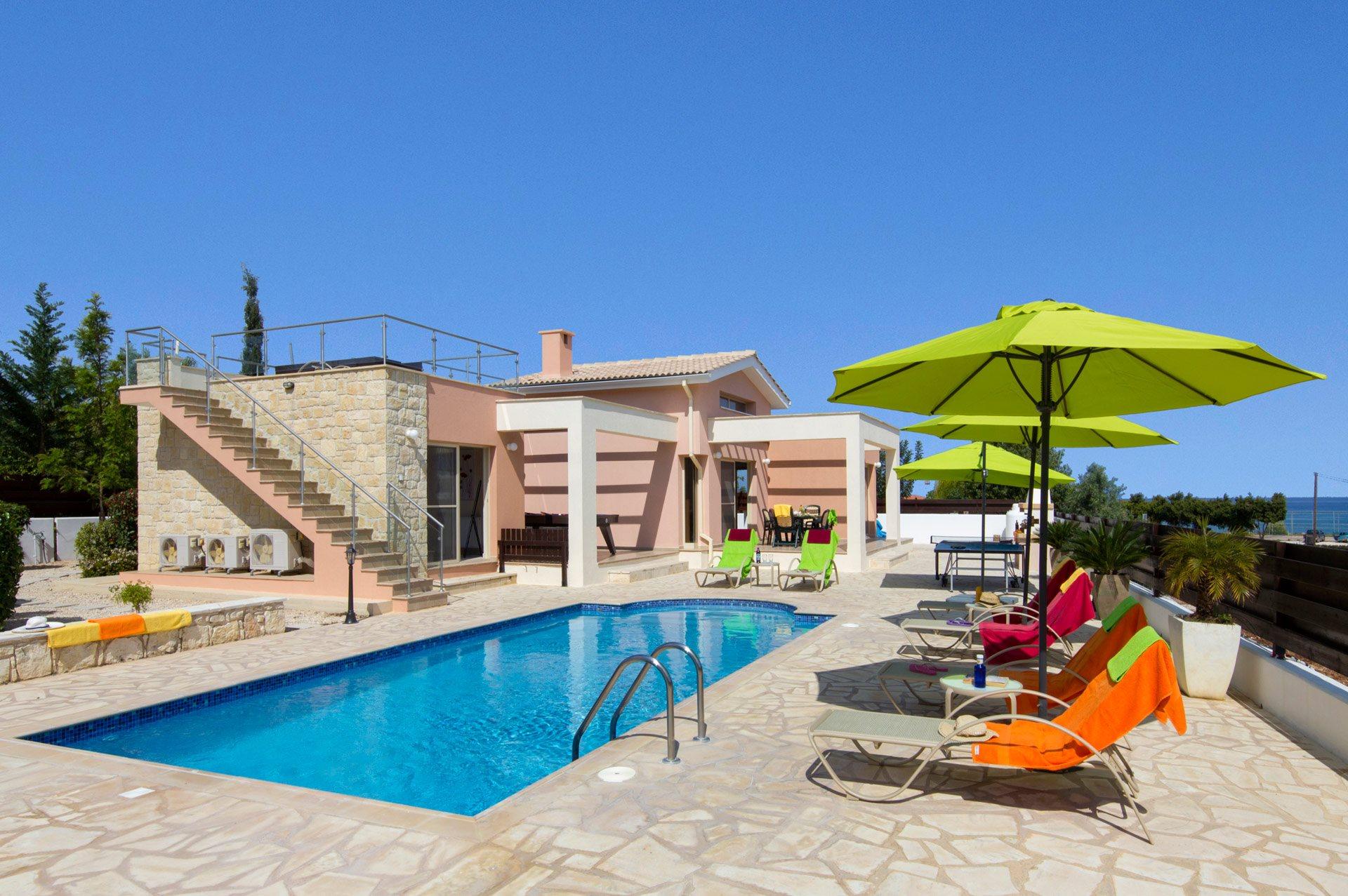 Villa Golden Thalassa, Latchi, Cyprus