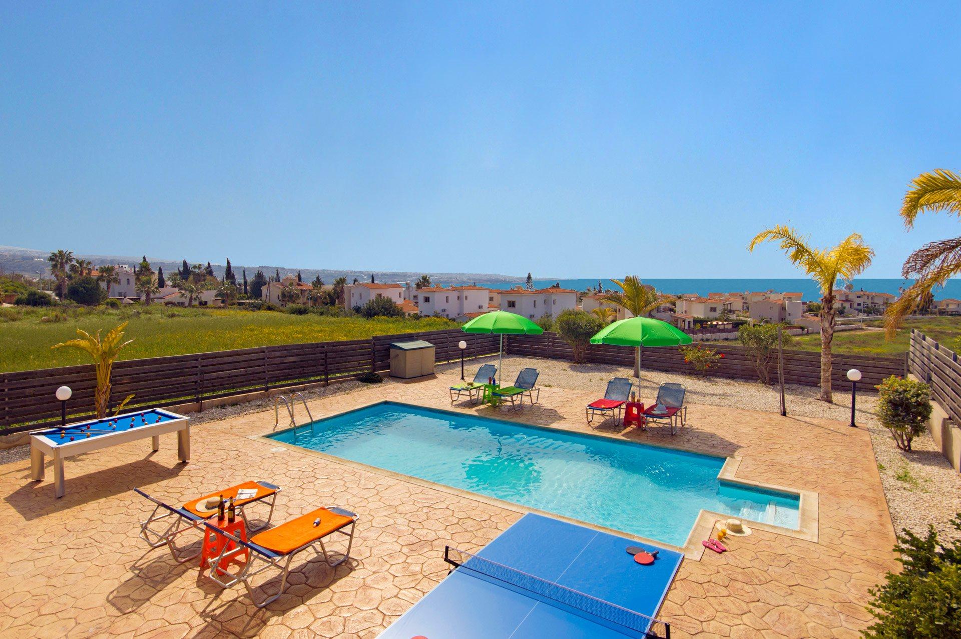 Villa Kassiopeia, Coral Bay, Cyprus