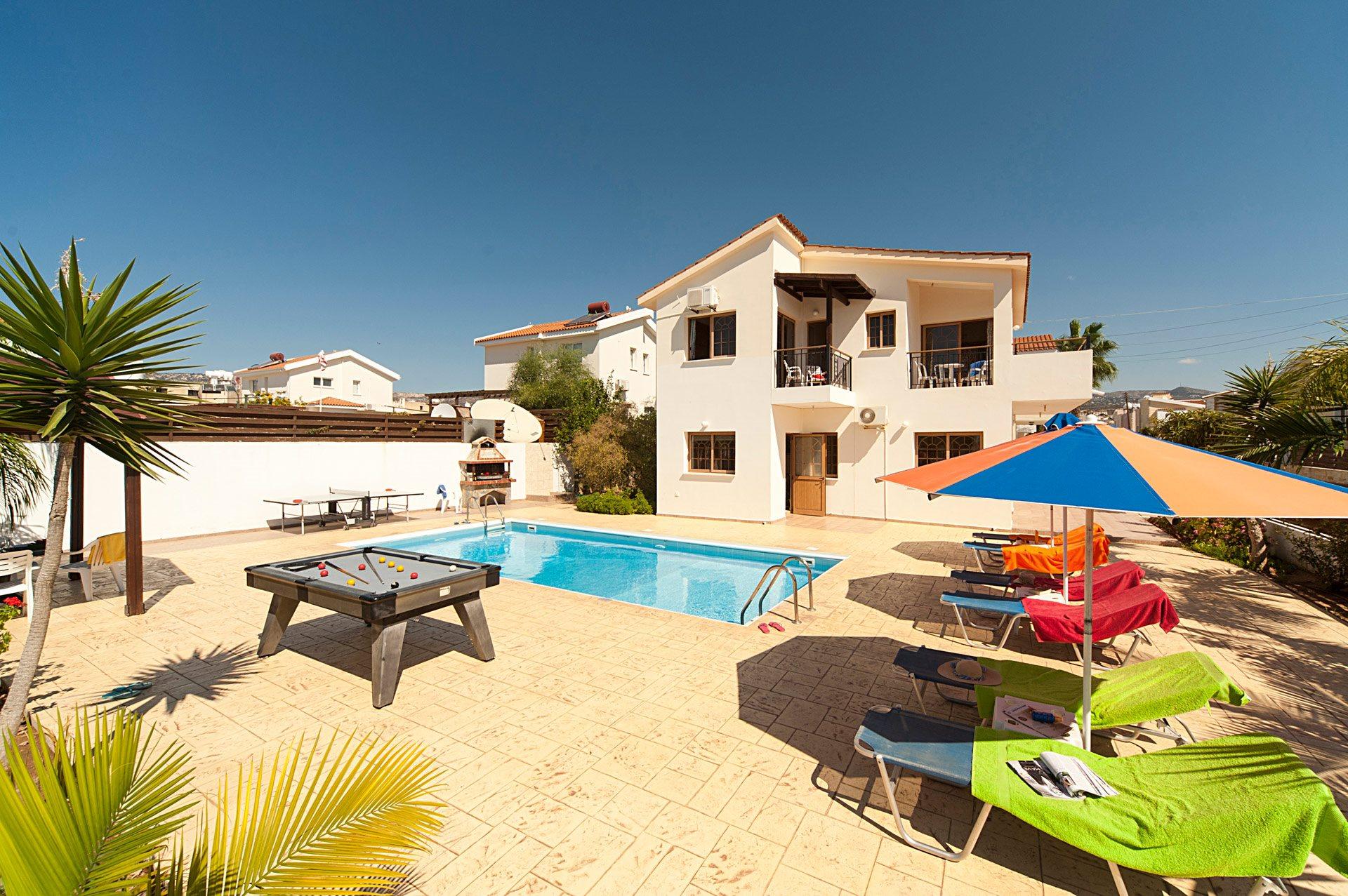 Villa Katina In Coral Bay, Cyprus   Villa Plus