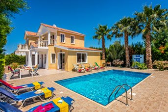 Villa Kristin, Coral Bay, Cyprus