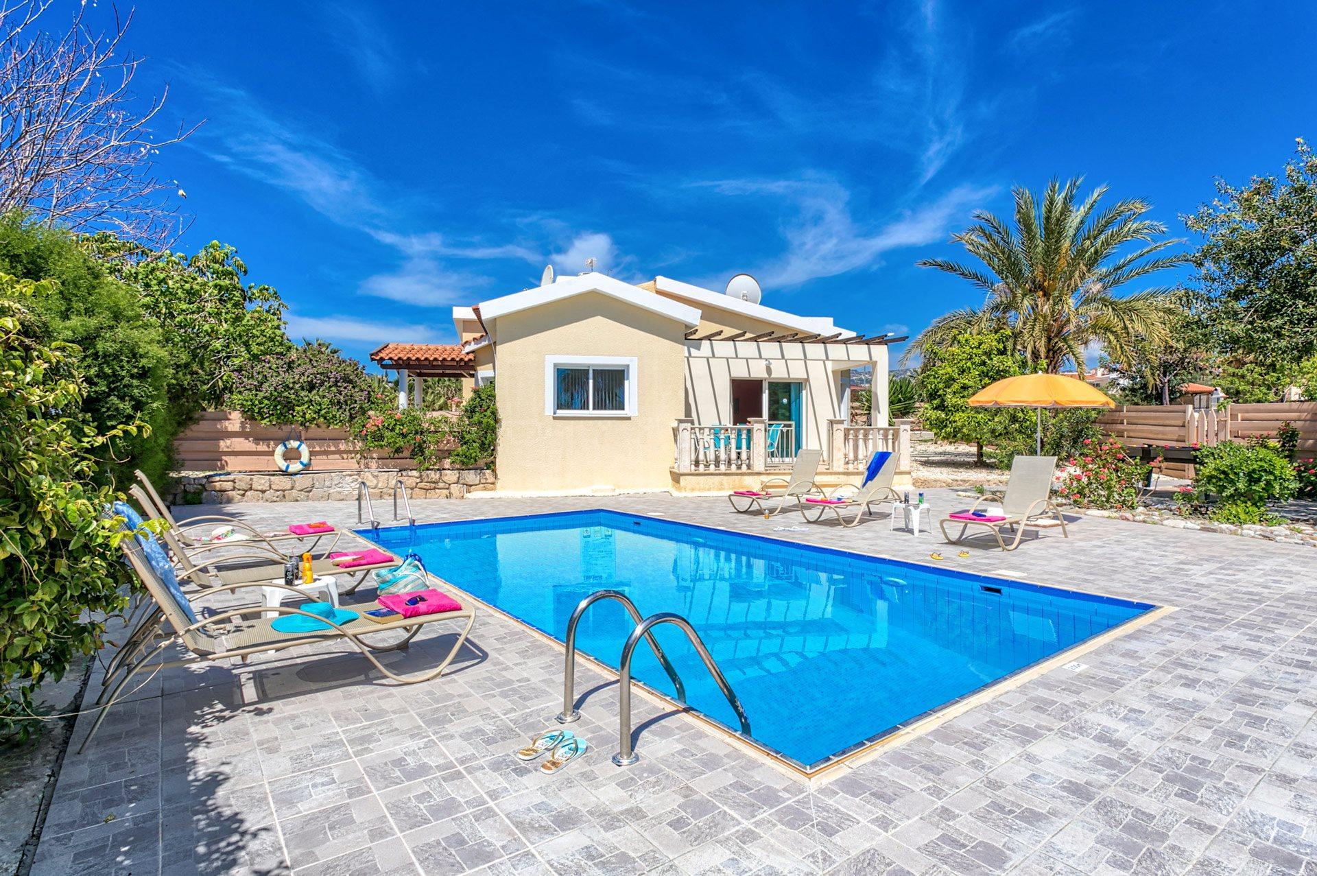 Villa Marios In Coral Bay Cyprus Villa Plus