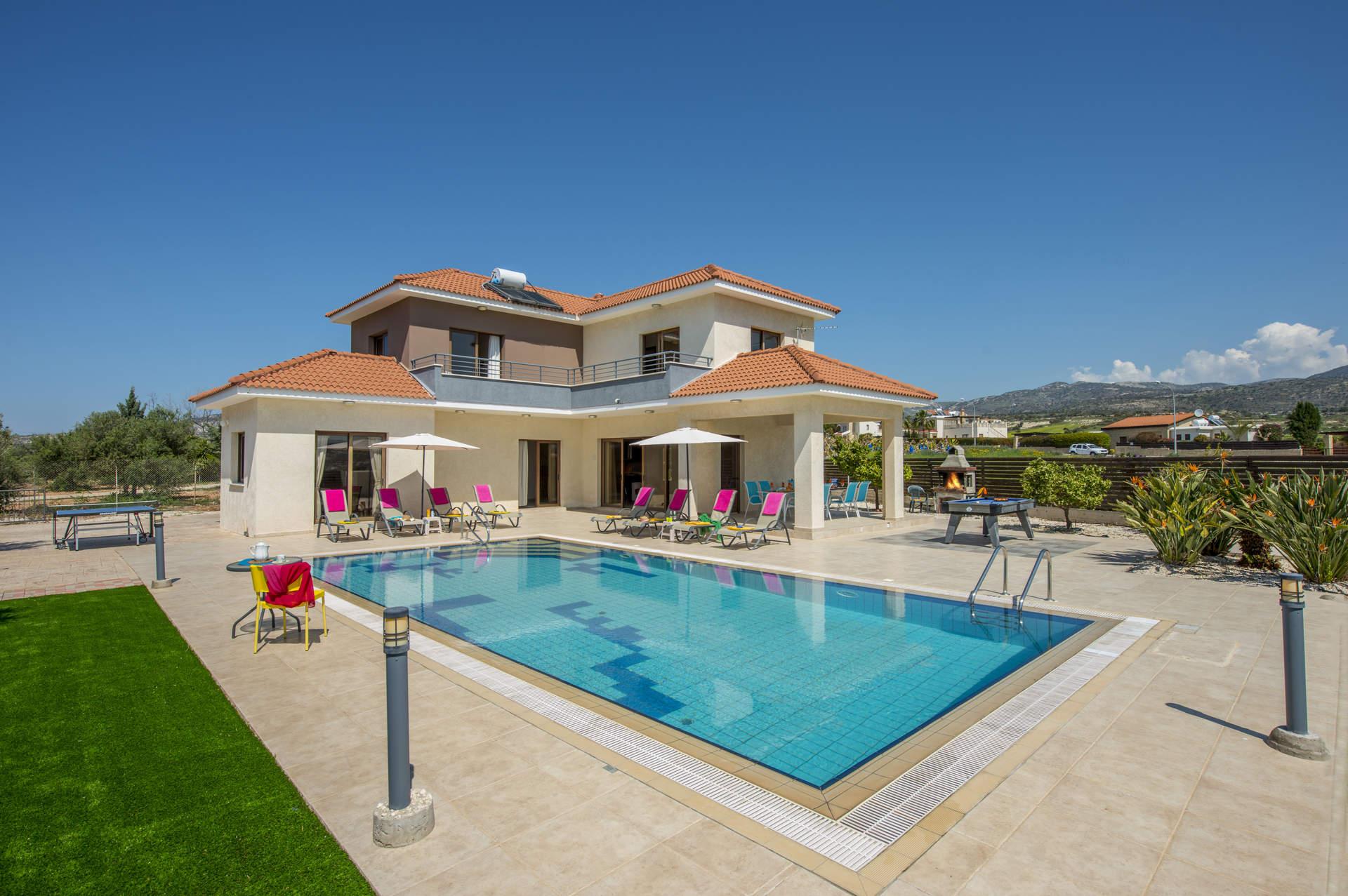 Villa Melanie, Coral Bay, Cyprus