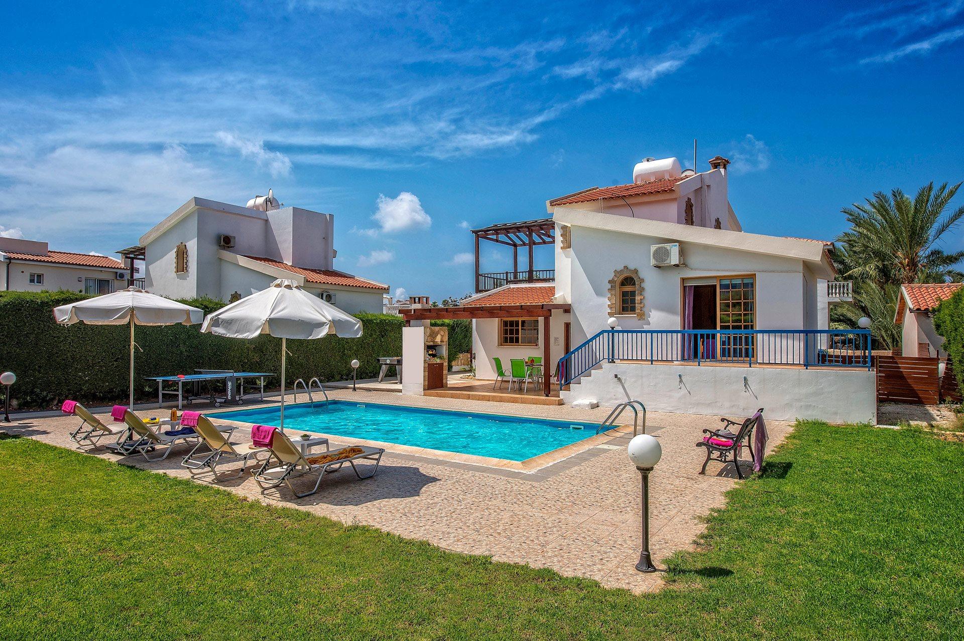 Villa Nerine In Coral Bay, Cyprus   Villa Plus