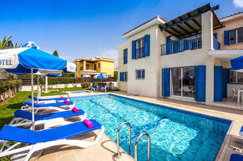 Villa Ourania, Coral Bay, Cyprus