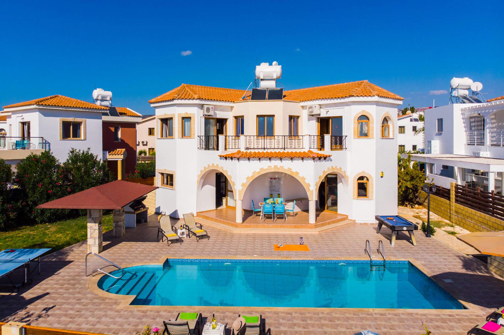 Villa Poseidon, Coral Bay, Cyprus