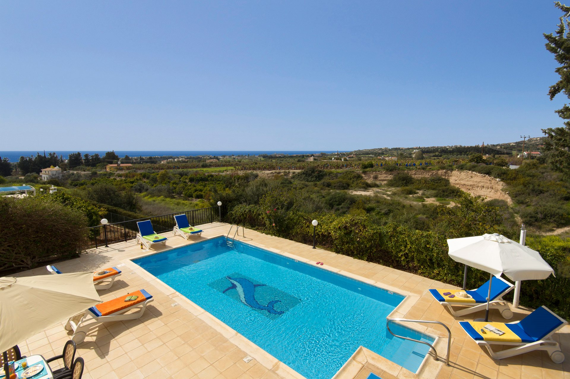 Villa Rallou, Coral Bay, Cyprus