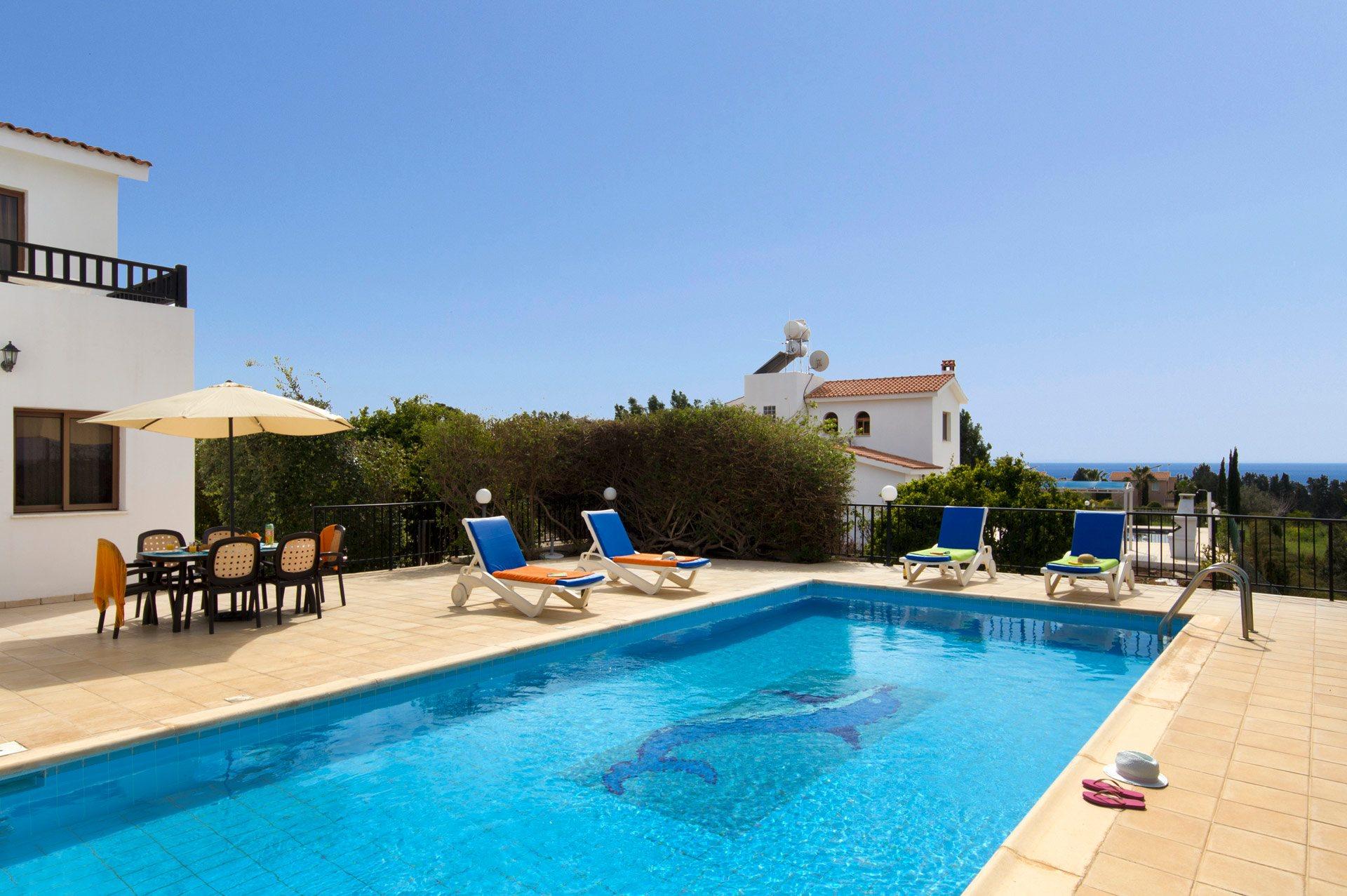 Villa Rallou In Coral Bay Cyprus Villa Plus