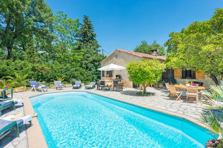 Villa Mas des Fleurs, Peymeinade, French Riviera, France