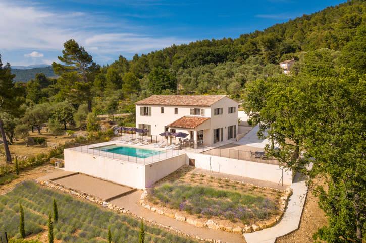 Villa Mas des Lavandes, St Cezaire Sur Siagne, French Riviera, France