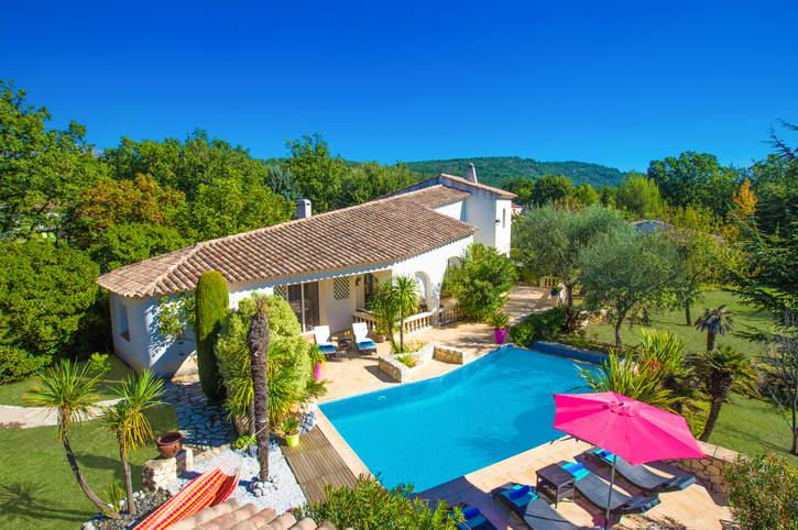 Villa Passiflore, St Cezaire Sur Siagne, French Riviera, France