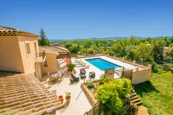 Villa Soleiade, St Cezaire Sur Siagne, French Riviera
