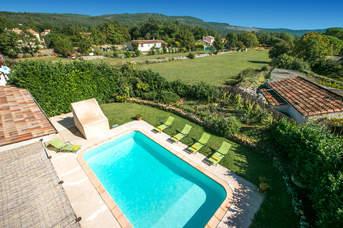 Villa Tonelle, St Cezaire Sur Siagne, French Riviera