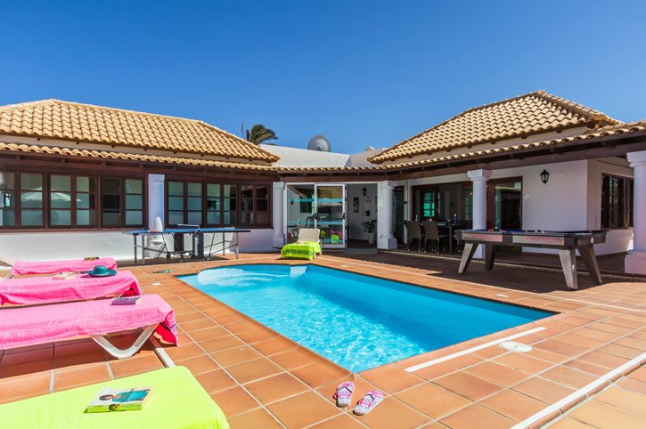 Villa Alba Mar, Corralejo, Fuerteventura