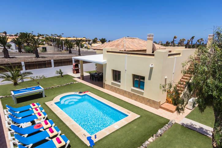 Villa Caleta Del Sol, Caleta de Fuste, Fuerteventura, Spain