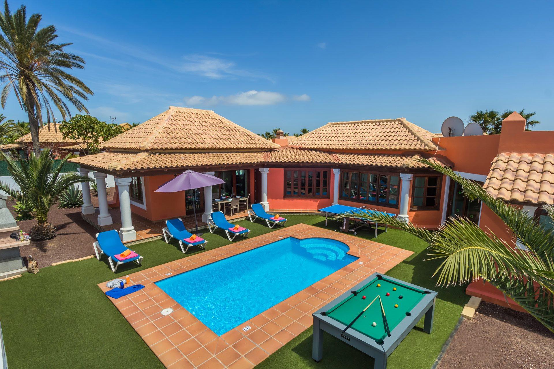 Villa Celine, Corralejo, Fuerteventura