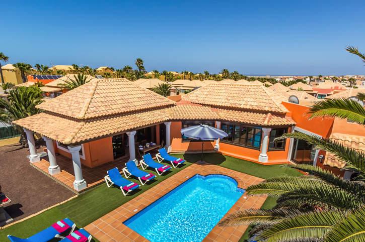Villa Duna Mar, Corralejo, Fuerteventura, Spain