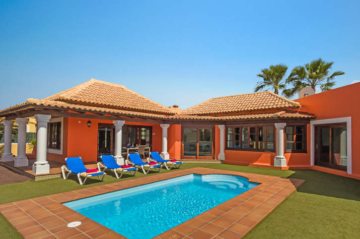 Villa Feliz, Corralejo, Fuerteventura, Spain