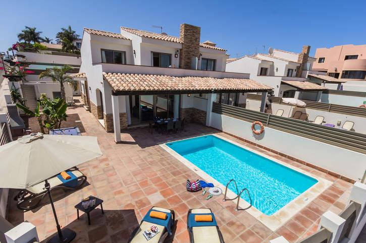 Villa Jenny, Corralejo, Fuerteventura, Spain