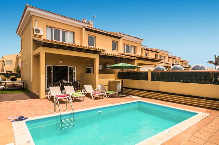 Villa Las Margaritas, Corralejo, Fuerteventura, Spain
