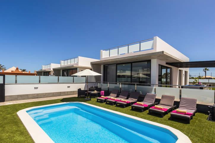 Villa Lindo, Corralejo, Fuerteventura, Spain