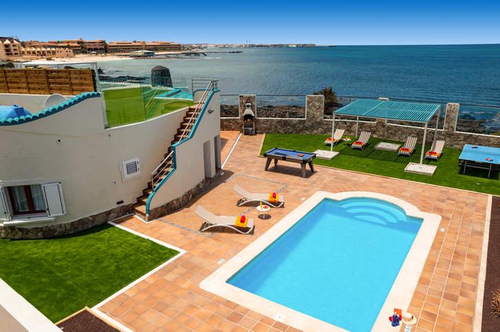 Villa Lobos, Corralejo, Fuerteventura, Spain