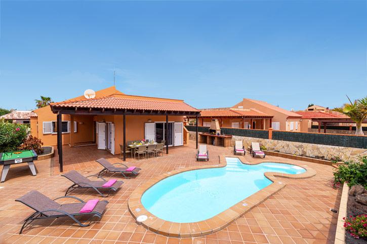 Villa Princesa, Corralejo, Fuerteventura, Spain