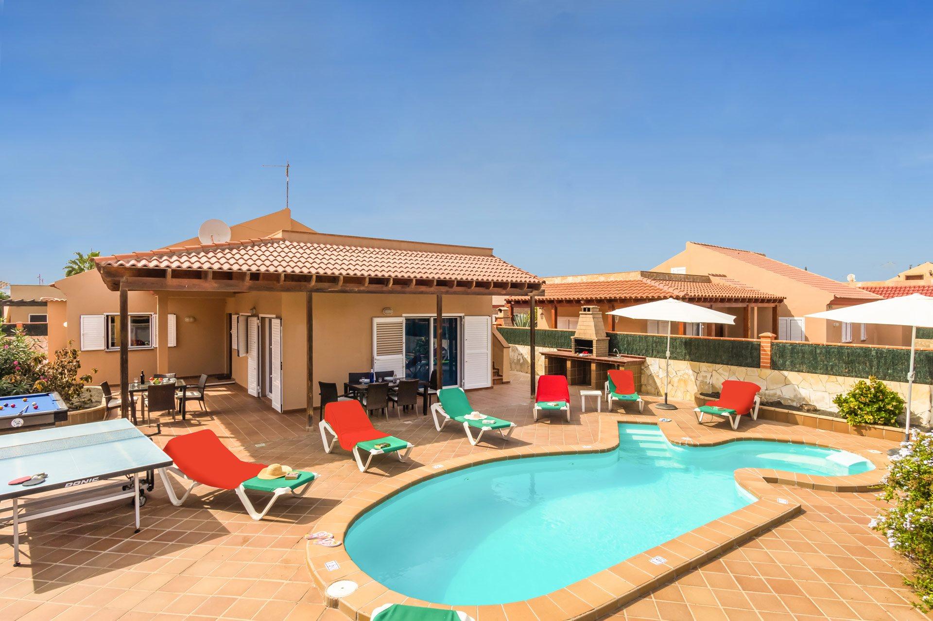 Villa Princesa, Corralejo, Fuerteventura