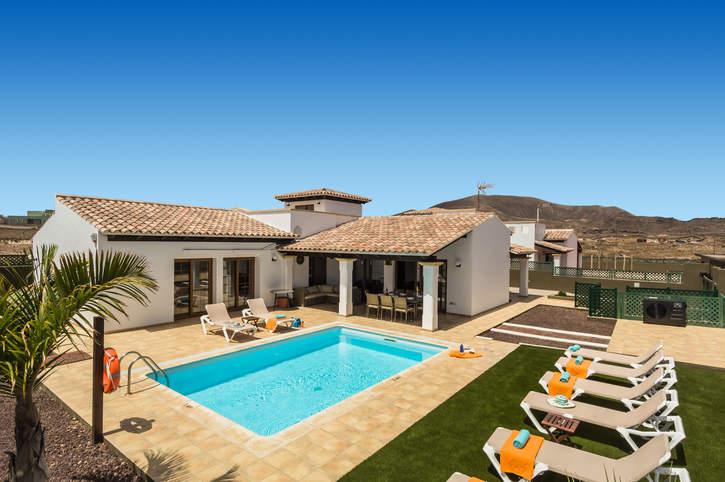 Villa Sherry II, Corralejo, Fuerteventura, Spain