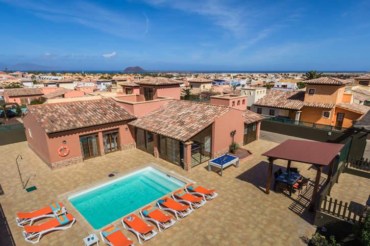 Villa Simona, Corralejo, Fuerteventura, Spain