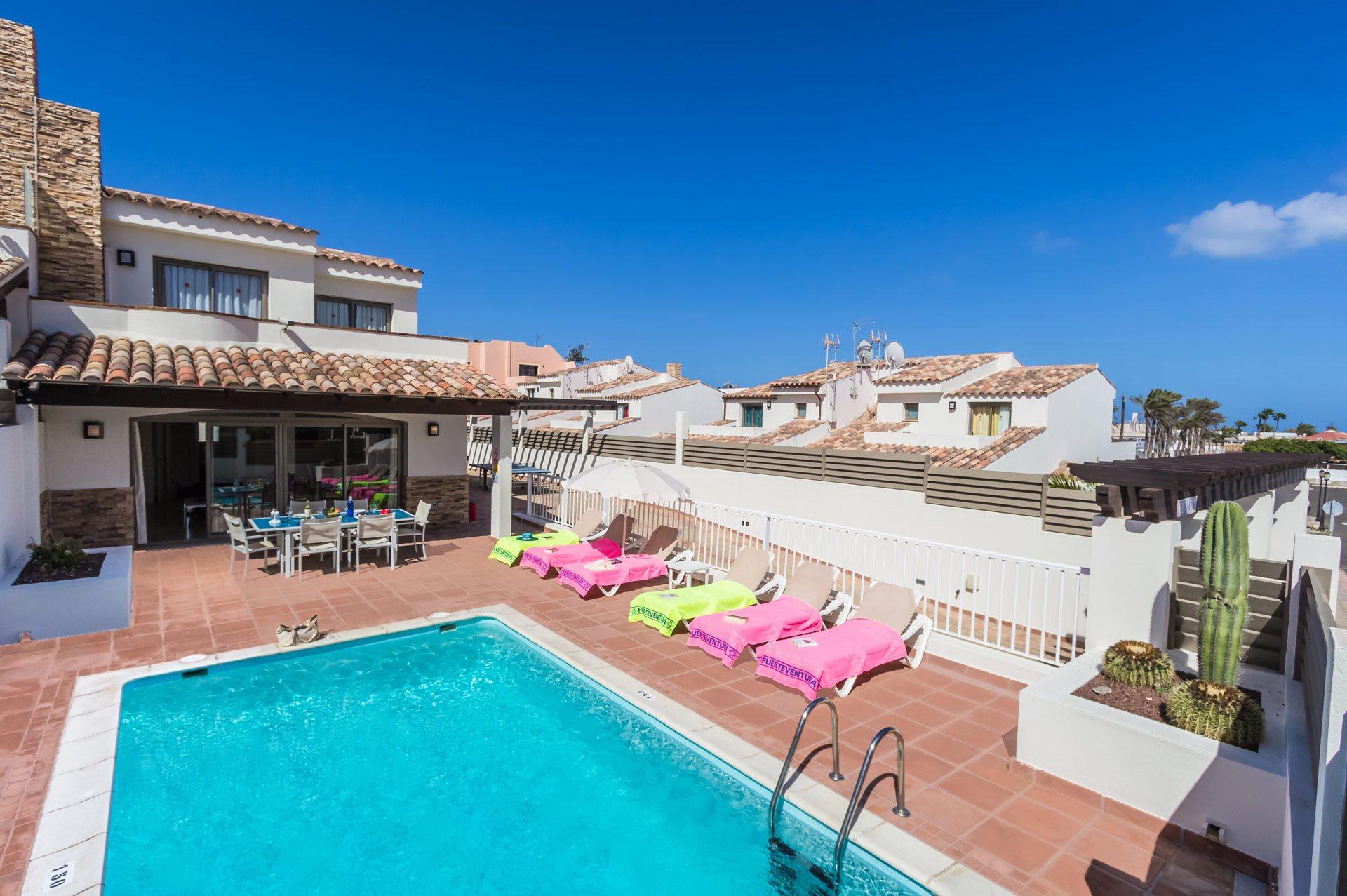 Villa Sirena, Corralejo, Fuerteventura